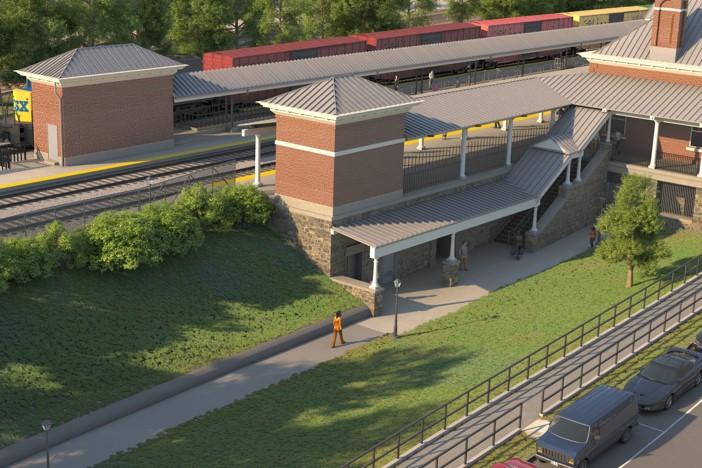 Alexandria Station Improvements Rendering